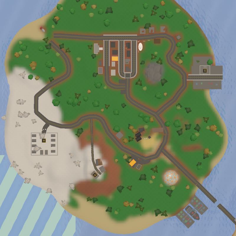 Russia Map Unturned Radio Towers
