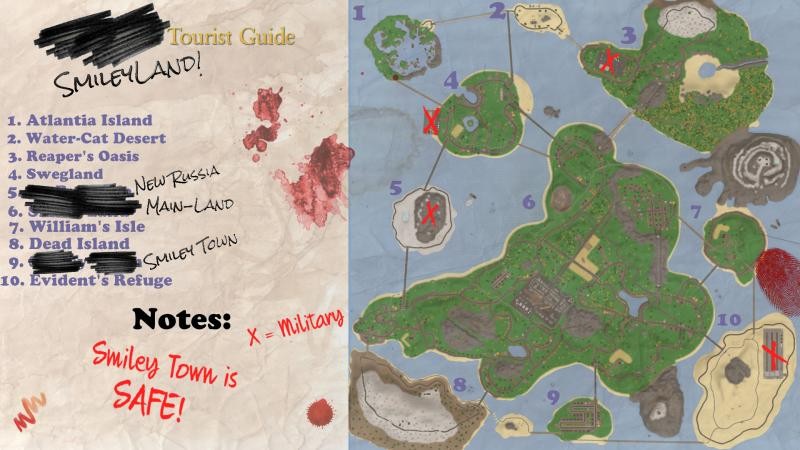 Как создать карту на унтурнед