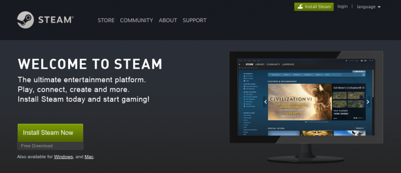 New Steam Client Update