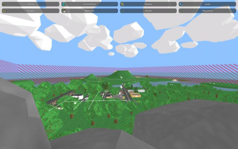 Summer Valley-Roleplaying Map