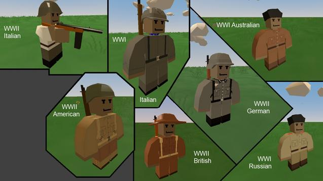 Frenk-WWI And WWII Soldier Outfits V4.3.0.2