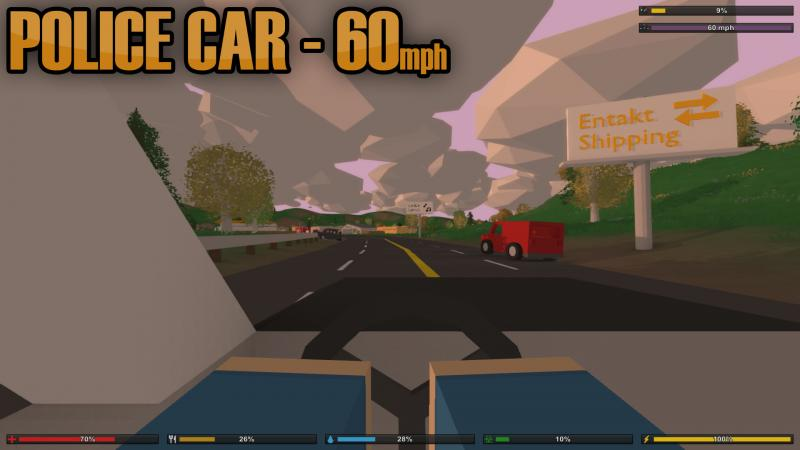 Vehicle Speed Mod